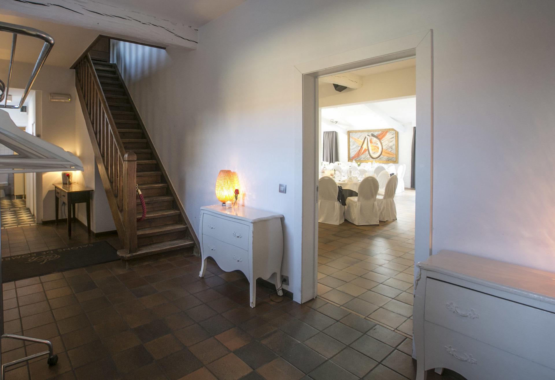 Fireplace - Salons de Romree
